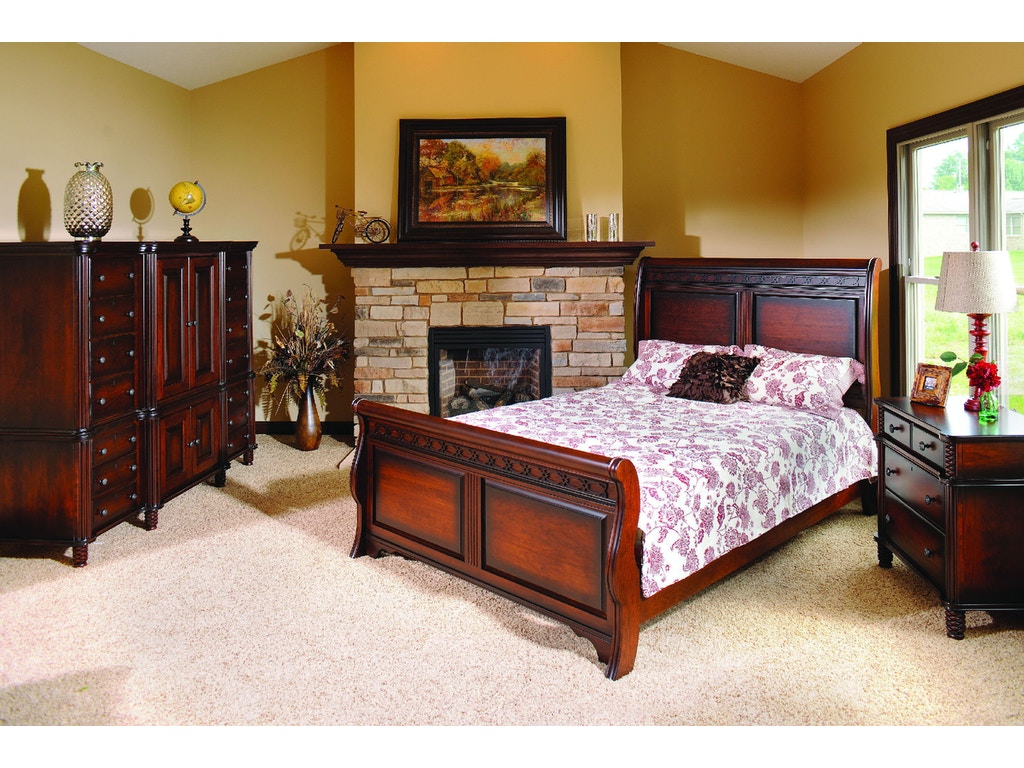 Yutzy woodworking bedroom new generations bed 74101 for Bedroom furniture raleigh nc