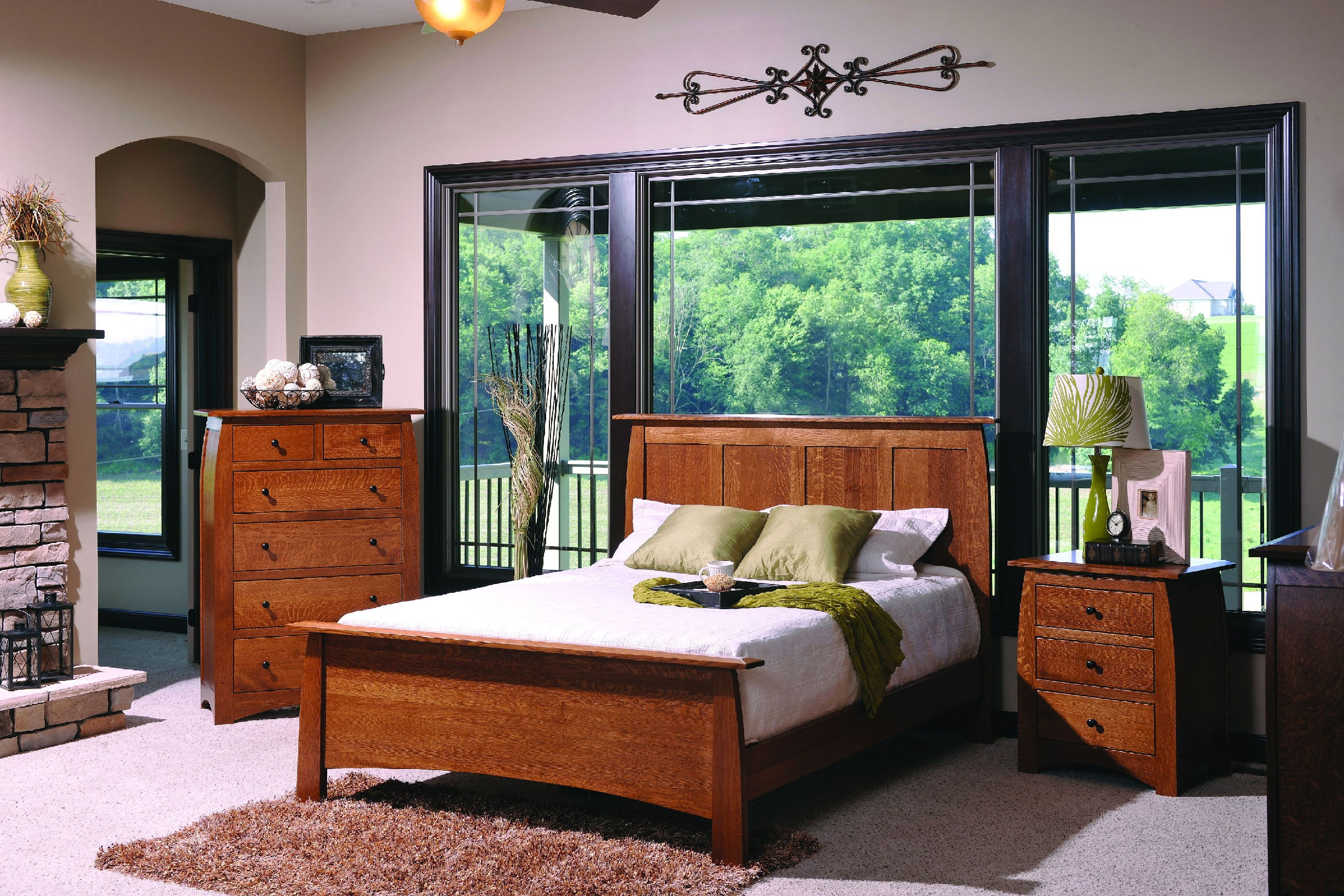 YUTZY WOODWORKING Vail Bed 64103