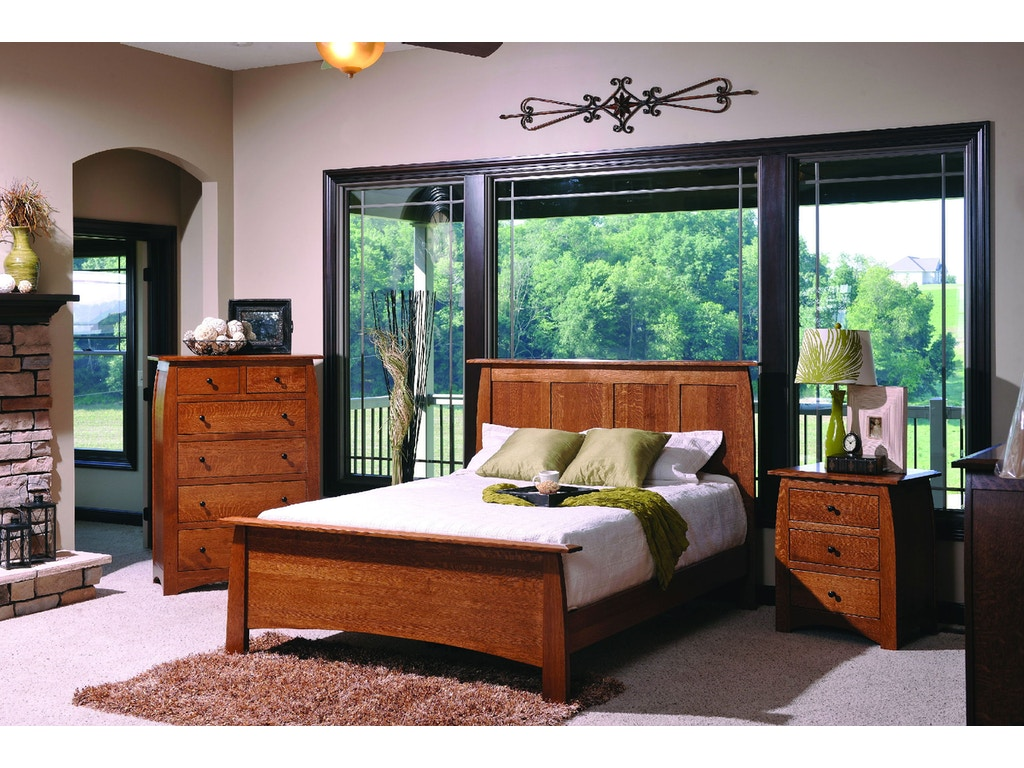Yutzy woodworking bedroom vail bed 64101 whitley for Bedroom furniture raleigh nc