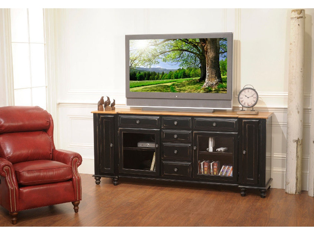 Yutzy Woodworking Home Entertainment Wrightsville Entertainment Console 3203 Whitley Furniture