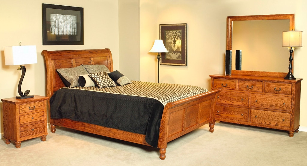Yutzy Woodworking Bedroom Wrightsville Bed 48125