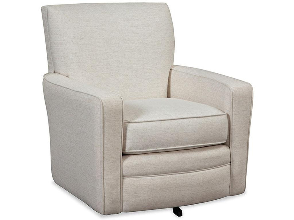 Craftmaster Living Room Swivel Chair 005010SC - Schmitt ...