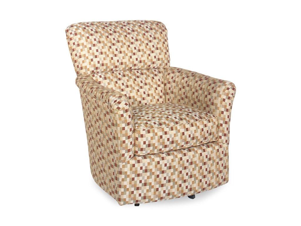 Craftmaster Living Room Swivel Chair 005210sc Norwalk