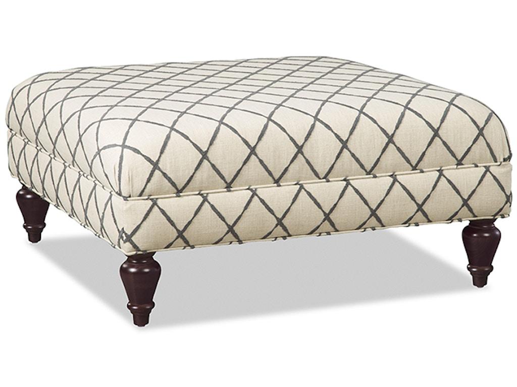 Craftmaster Living Room Ottoman 018200 Craftmaster