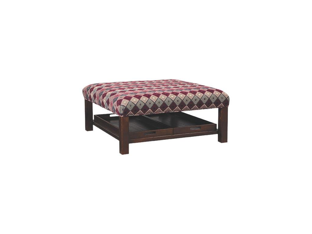 Craftmaster Living Room Ottoman 024600 Seaside Furniture