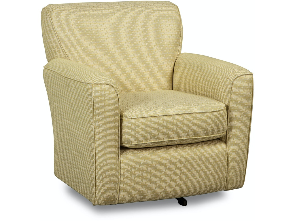Craftmaster living room swivel chair 068710 norwood - Swivel chair living room furniture ...