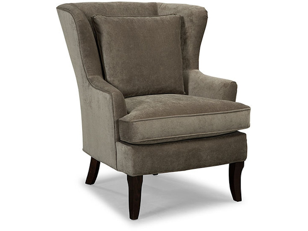 craftmaster living room wing chair 085010 cherry house furniture la grange and louisville ky. Black Bedroom Furniture Sets. Home Design Ideas