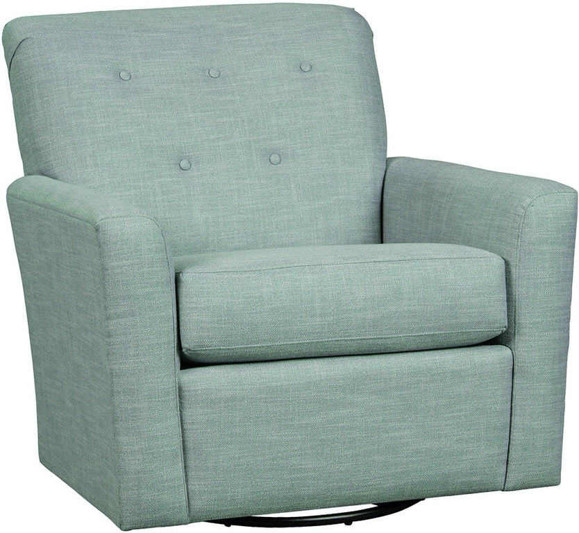 Craftmaster Living Room Swivel Chair 085510SC - Claussens ...