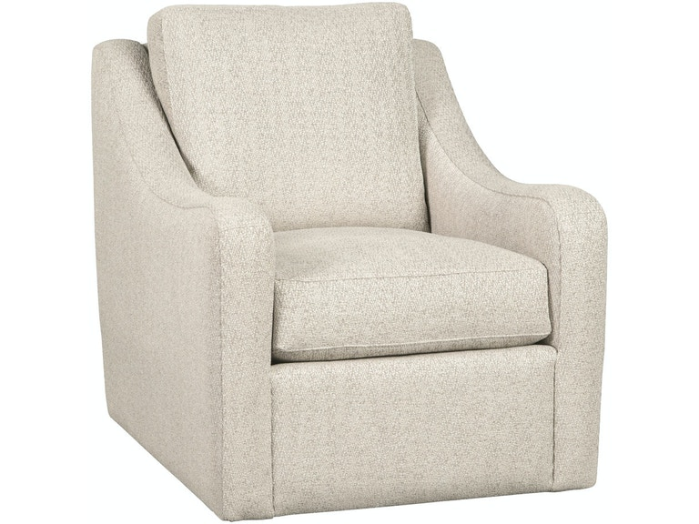 Craftmaster Living Room Swivel Chair 087710BDSC - Union Furniture ...