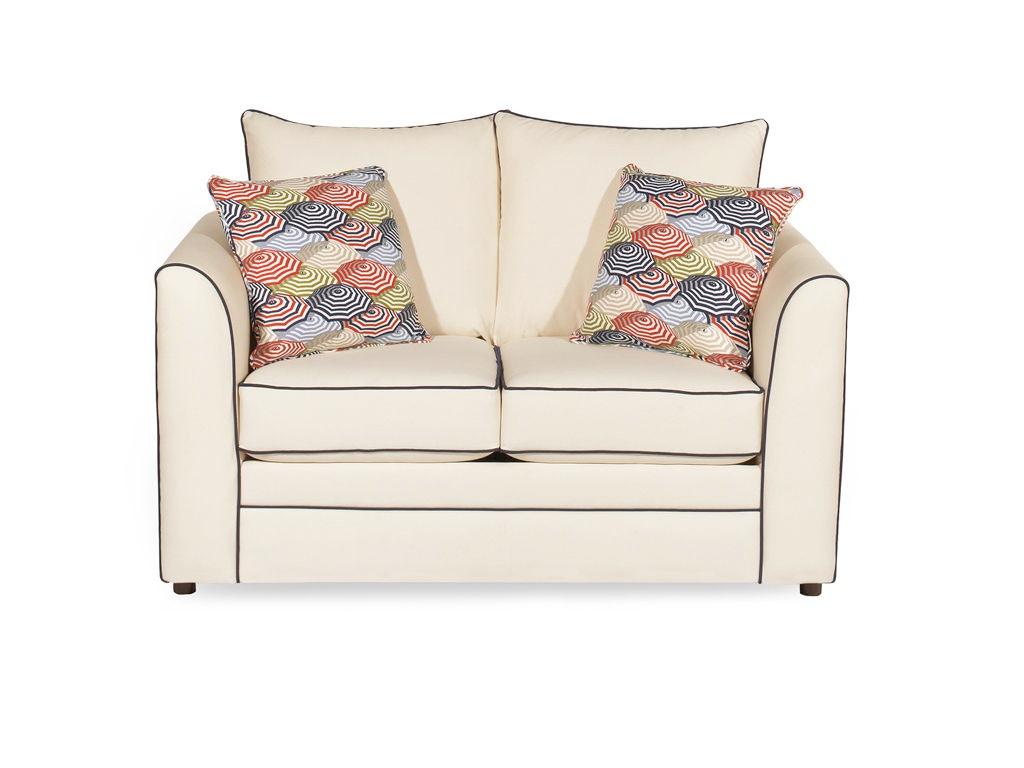 Craftmaster Living Room Two Cushion Sleeper Sofa 242044 Union