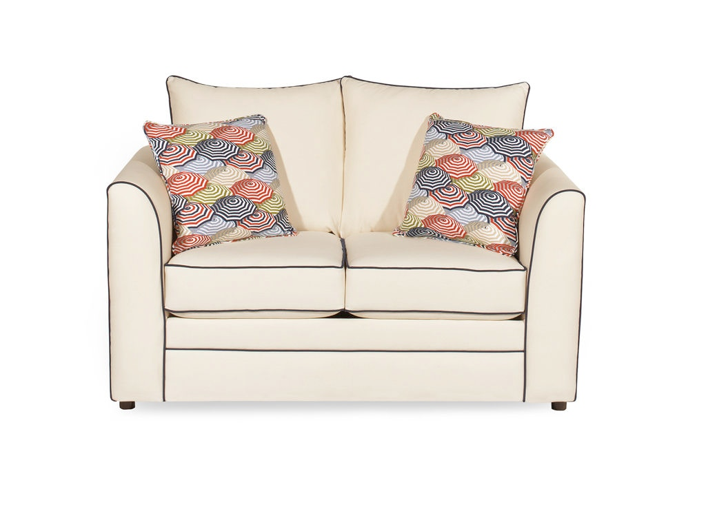 Craftmaster Living Room Two Cushion Sleeper Sofa 2420 44