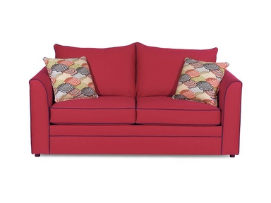 Craftmaster Two Cushion Sleeper Sofa 2420-60