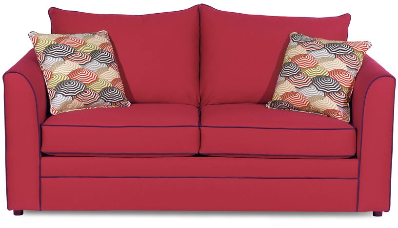 Craftmaster Living Room Two Cushion Sleeper Sofa 2420 60 Norwalk