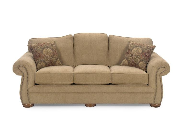 Craftmaster Living Room Three Cushion Sofa 2675 Burke Furniture Inc Lexington Ky