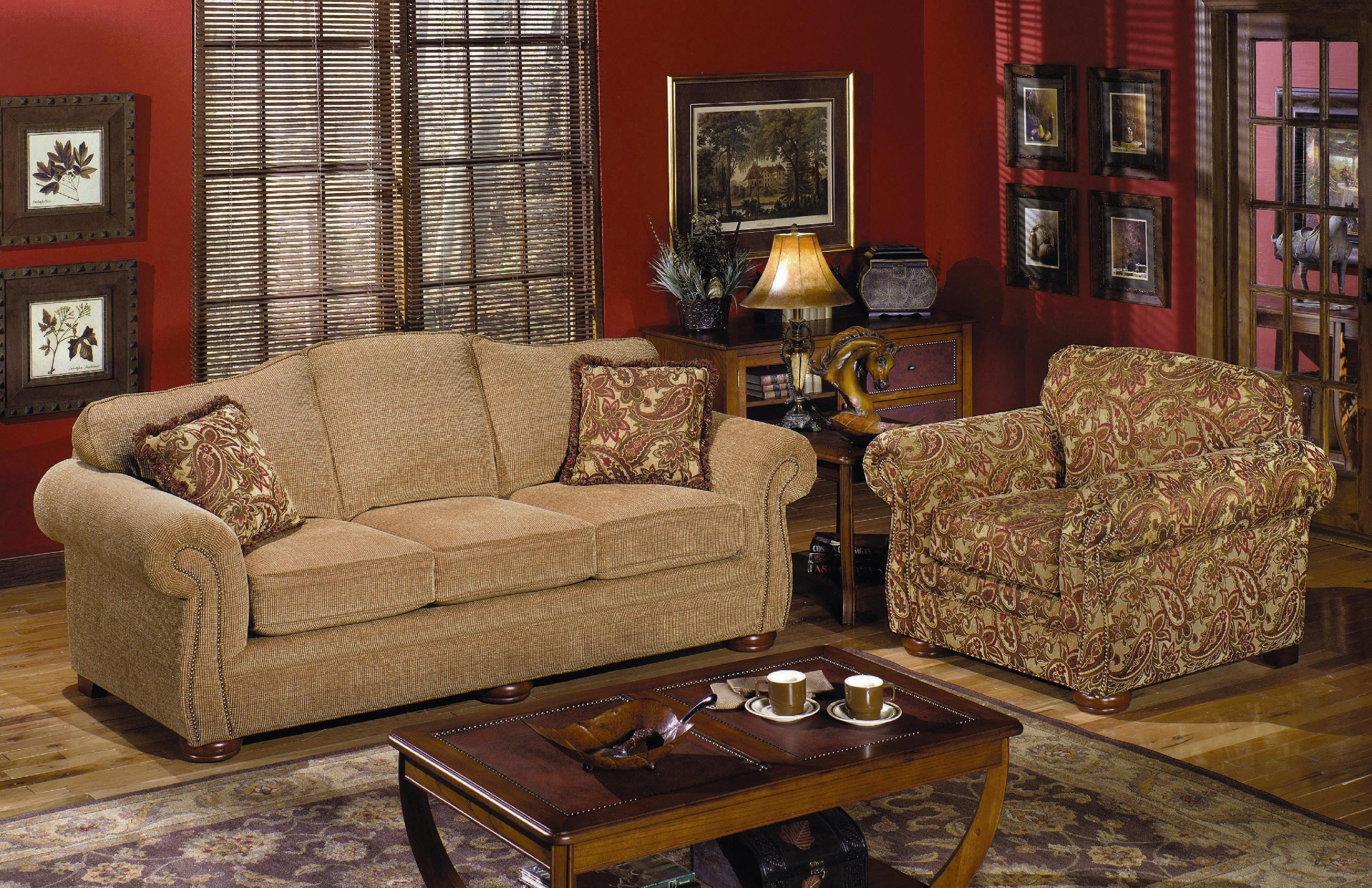 Craftmaster Living Room Sleeper Sofa 267568 Carol House Furniture