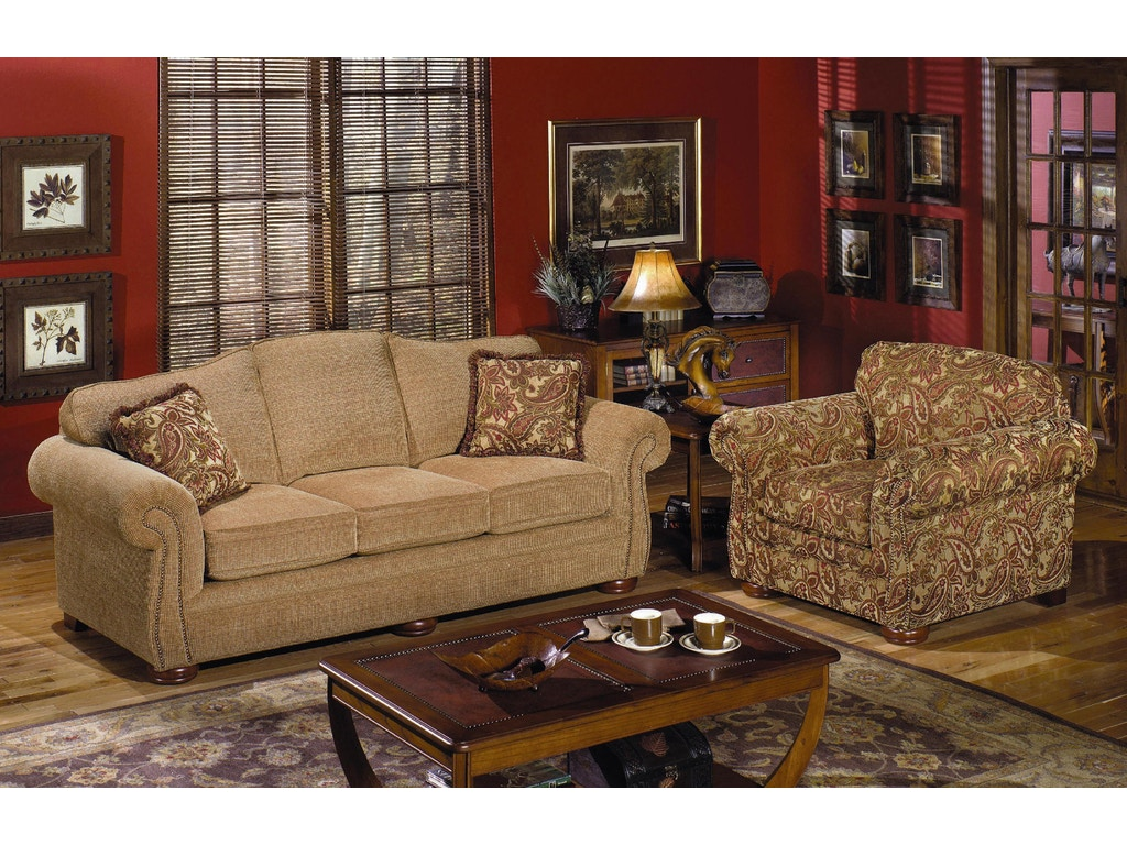 Craftmaster Living Room Sofa 2675 Cherry House Furniture