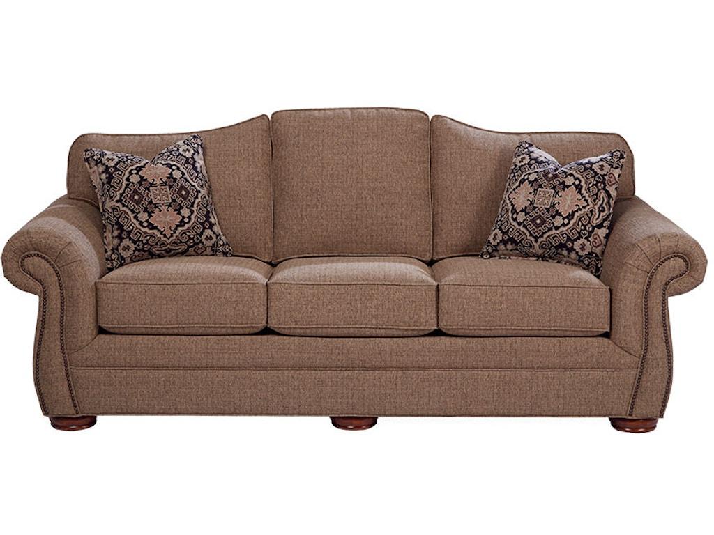Craftmaster Living Room Sleeper Sofa 268550 68 Cherry
