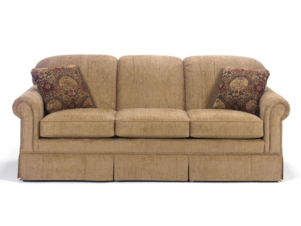Craftmaster Living Room Three Cushion Sofa 4200 Kettle
