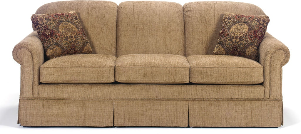 Craftmaster Living Room Three Cushion Sofa 4200 Kettle