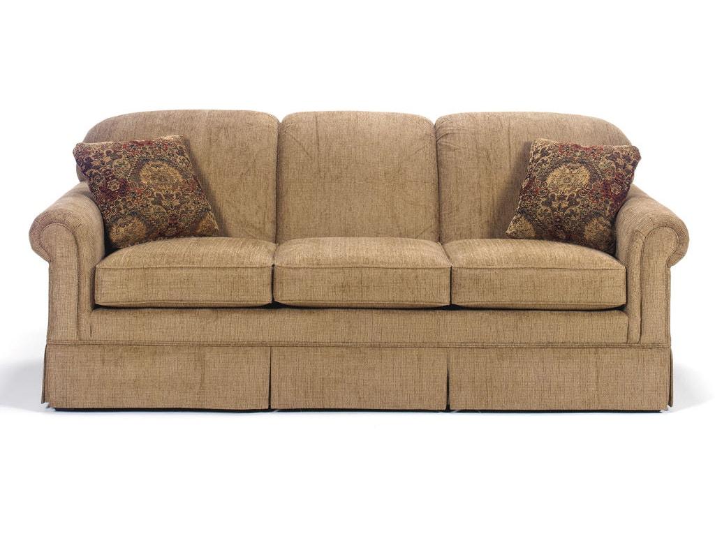 Craftmaster Living Room Three Cushion Sofa 4200 Quality Furniture Murfreesboro Tn
