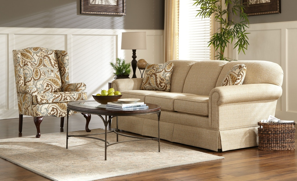 Craftmaster living room sofa 4200 kettle river furniture and bedding edwardsville il and st for Encore home designs by craftmaster