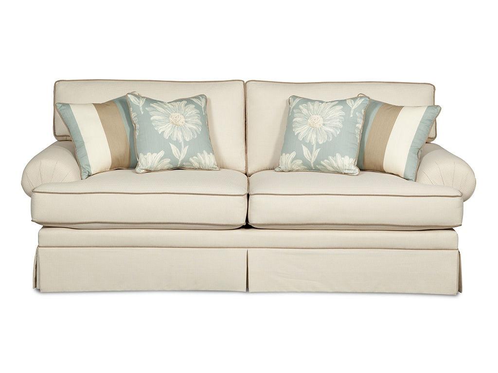 Craftmaster Two Cushion Queen Sleeper Sofa Refil Sofa