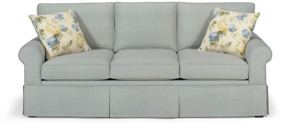 Craftmaster Living Room Sleeper Sofa 4665 68 Seaside