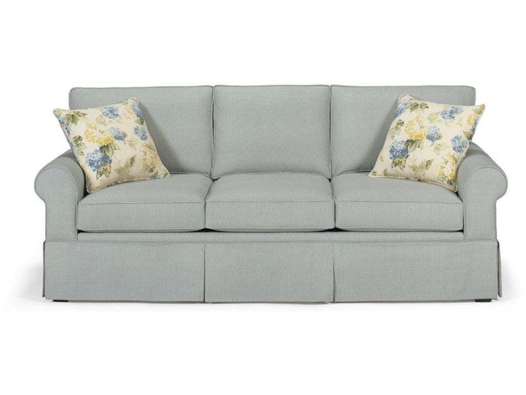 Craftmaster Living Room Three Cushion Queen Sleeper Sofa 4665 68 Quality Furniture