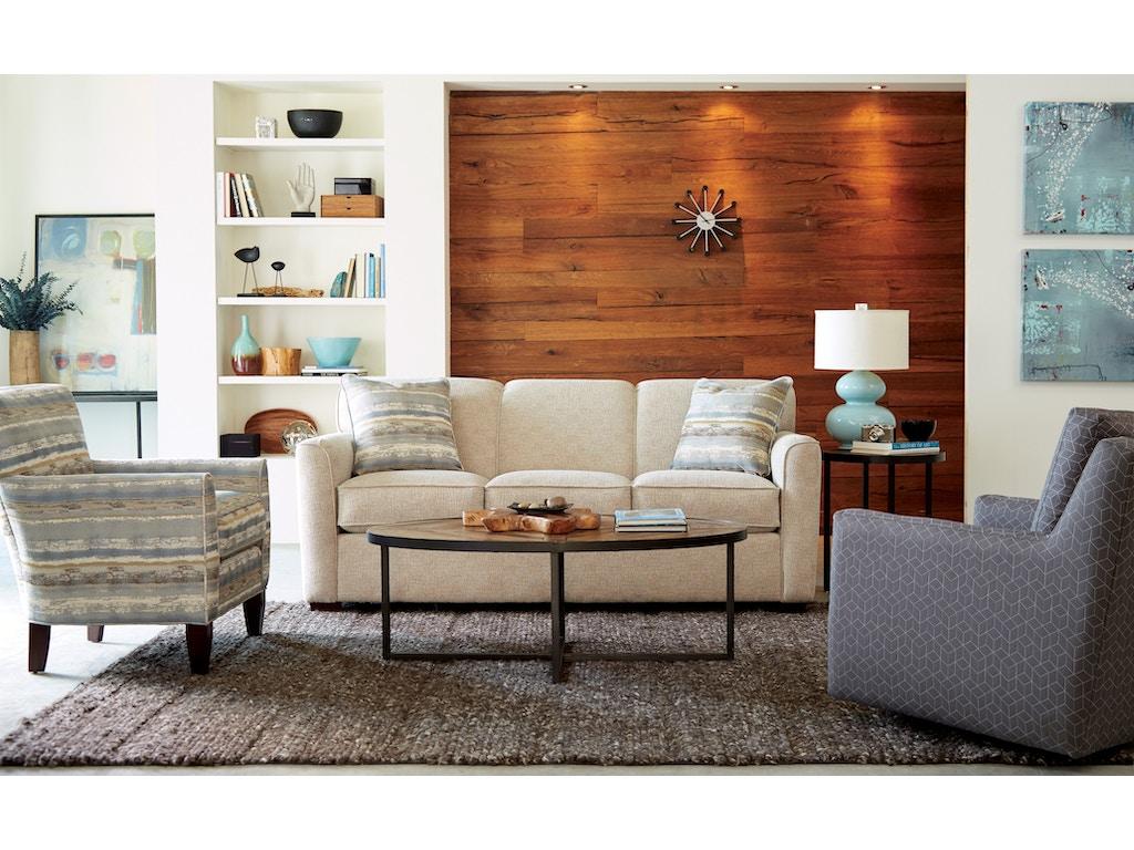 Craftmaster Living Room Sleeper Sofa 725550 68 Seaside