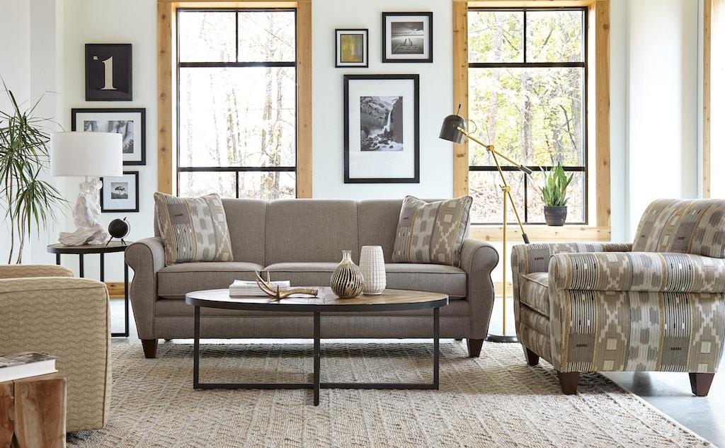 Craftmaster Living Room Sofa 738850 Shumake Furniture