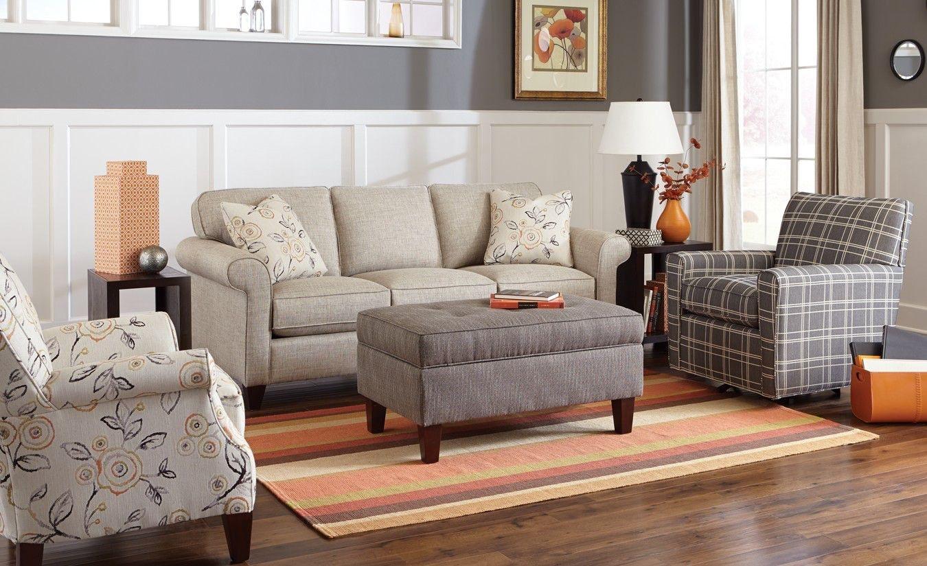 Craftmaster Living Room Sofa 742150 68 Sleeper