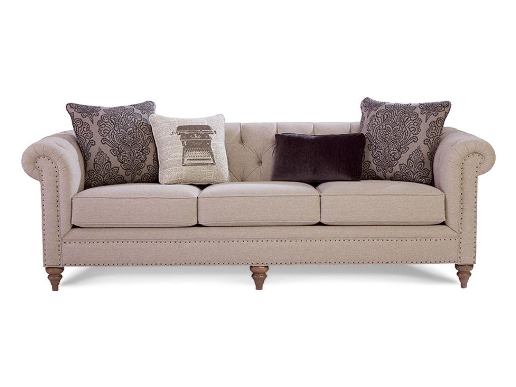 craftmaster living room sofa 743254 goldsteins furniture bedding hermitage pa niles oh. Black Bedroom Furniture Sets. Home Design Ideas