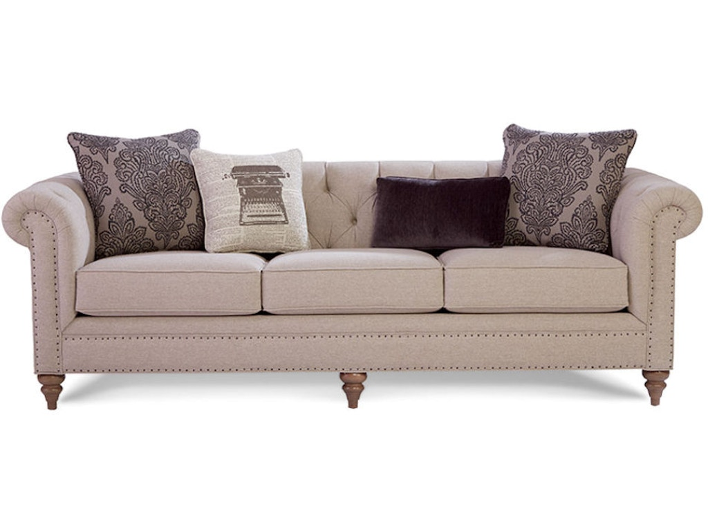 Craftmaster Living Room Sofa 743254 Seaside Furniture