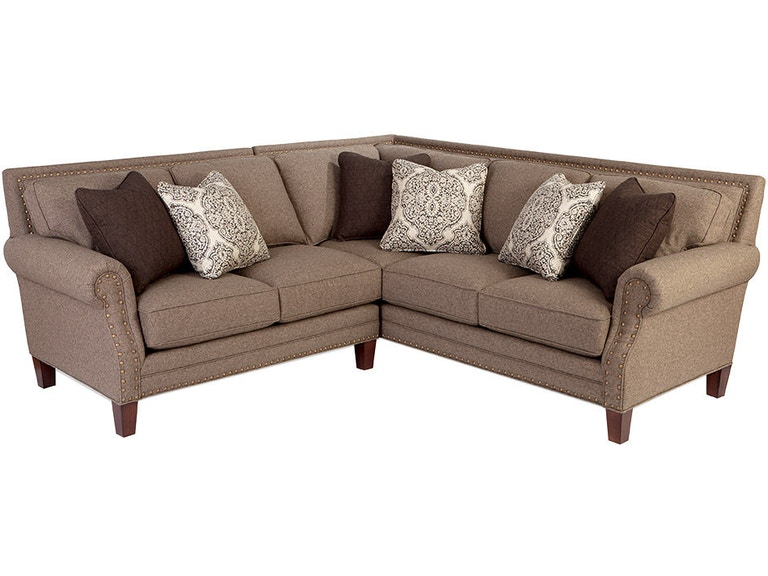 apricot sectional sofa craftmaster living room sectional 7471 sect carol house
