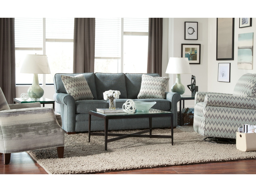 Craftmaster Living Room Sofa 752350 Carol House