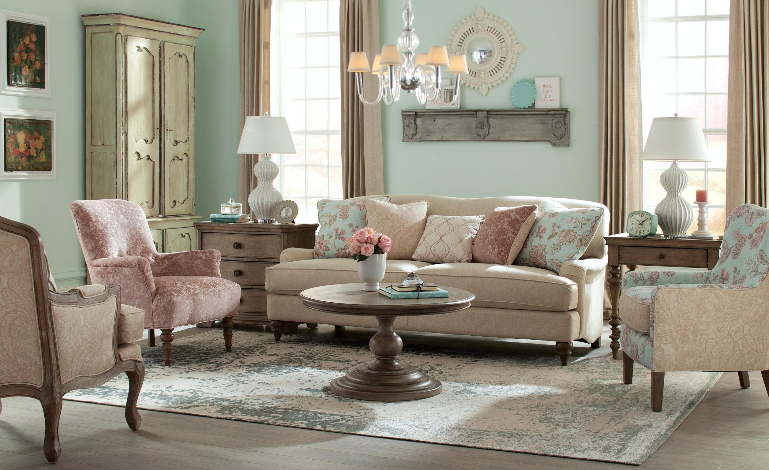 Craftmaster Sofa Paula Deen By Craftmaster Living Room Three