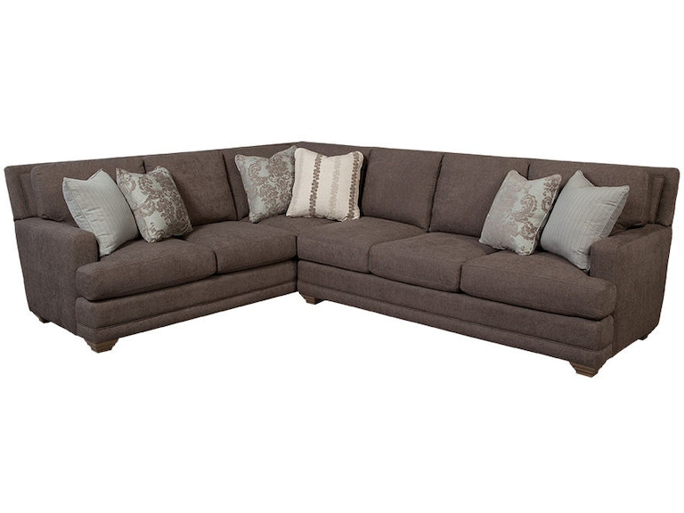 Craftmaster Sectional 7536 Sect