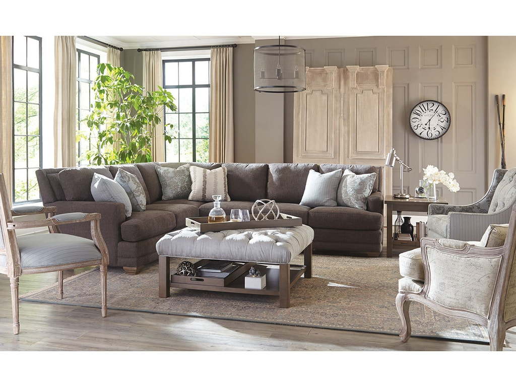 Craftmaster Living Room Sectional 7536 Sect Shumake Furniture Decatur And Huntsville Al