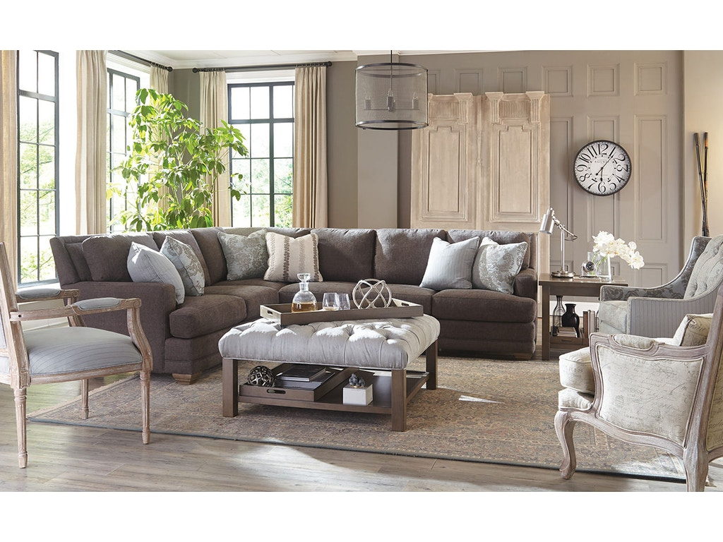 Craftmaster Living Room Sectional 7536 Sect Wholesale Furniture Cookeville Tn