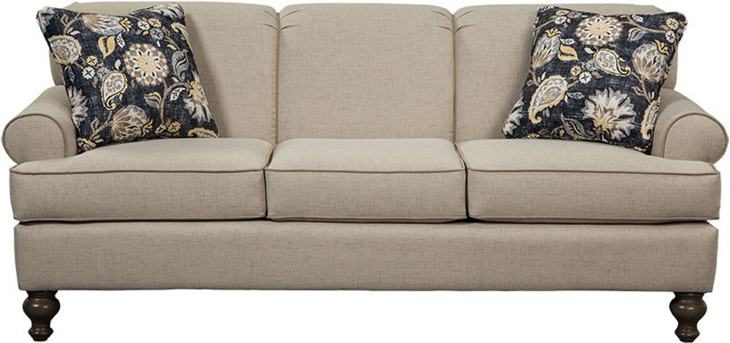 Craftmaster Living Room Sofa 754850 - Wrights Furniture ...