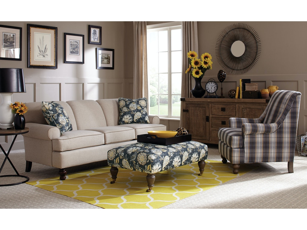 Craftmaster Living Room Sofa 754850 Carol House
