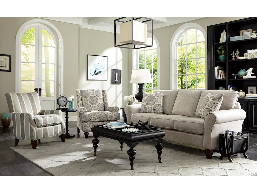 Craftmaster Living Room Sofa 755150 Carol House Furniture Maryland Heights And Valley Park Mo