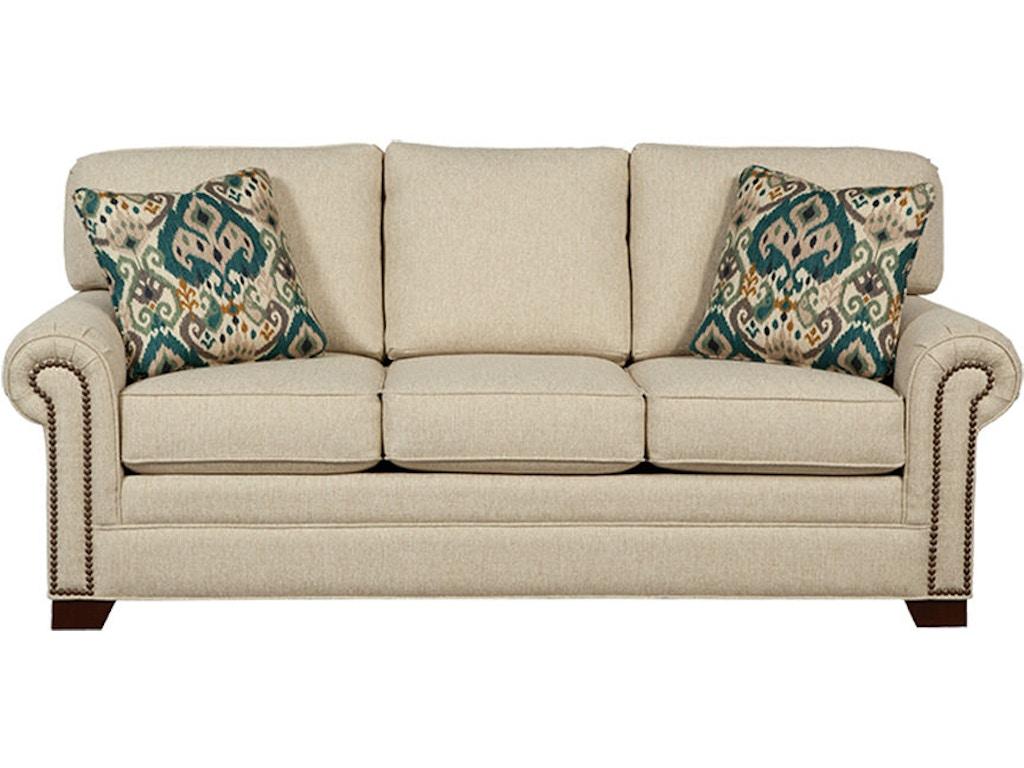 craftmaster living room sleeper sofa 756550 68 seaside furniture toms river brick and. Black Bedroom Furniture Sets. Home Design Ideas