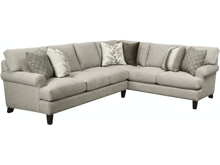 Craftmaster Living Room Sectional - Tyndall Furniture ...