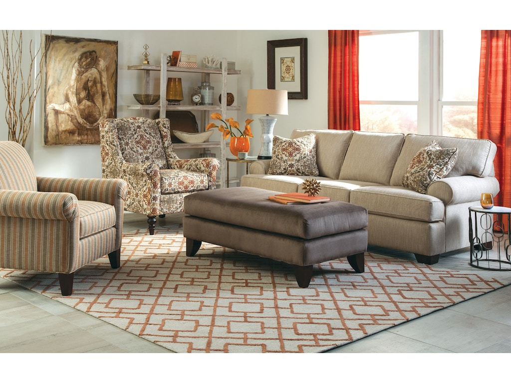 Craftmaster Living Room Sofa 767750 Carol House Furniture Maryland Heights And Valley Park Mo