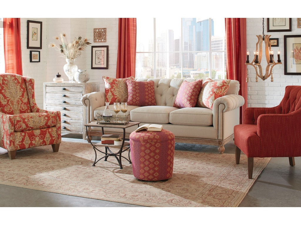 Craftmaster Living Room Sofa 768950 Carol House Furniture Maryland Heights And Valley Park Mo