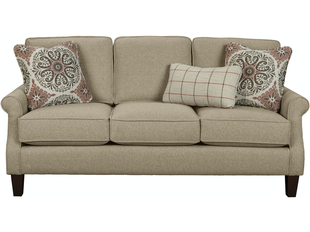 Hickory Craft Living Room Sofa 771950 Grace Furniture