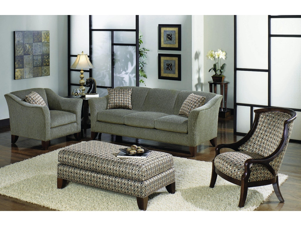 Craftmaster living room three cushion sofa 784450 kettle for Living room quilt