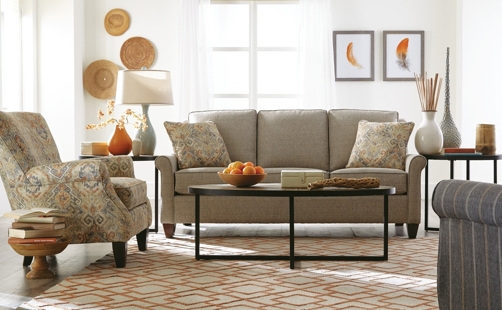 Hickory Craft Living Room Sofa 784850 Grace Furniture