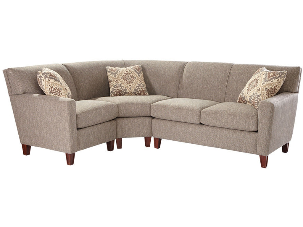Hickory Craft Living Room Sectional 7864 Sect Grace Furniture Marcy Ny